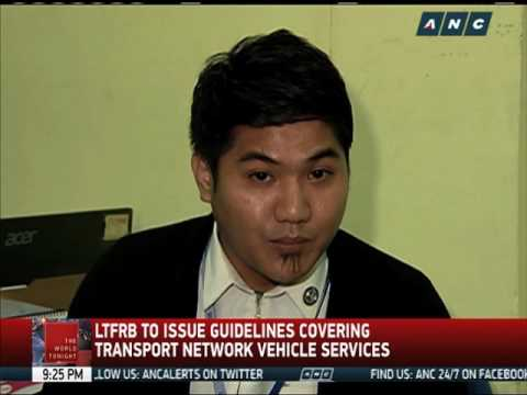 LTFRB to issue guidelines on Grab, Uber
