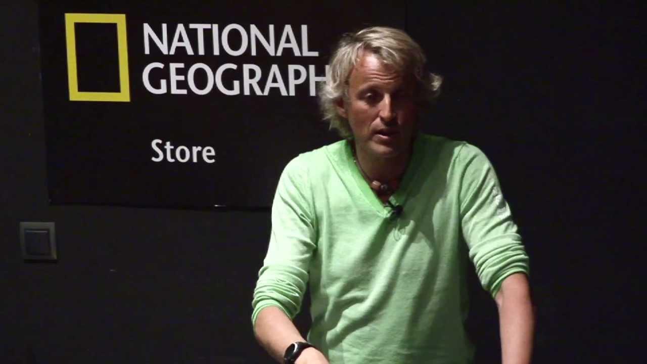 Conferencia de Jesús Calleja en National Geographic Madrid Store - Conferencias al Límite