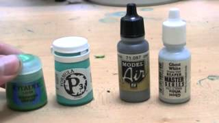 Miniature Painting 101 - Part 2 - All about Paints