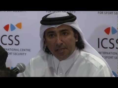 (6) Press Conference ICSS: Mohammed Hanzab, Doha-2012-03-14