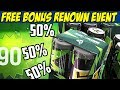 Rainbow Six Siege Free +50% Renown Bonus Event Activate BOOSTERS! Get renown faster! PC PS4 XBOX ONE