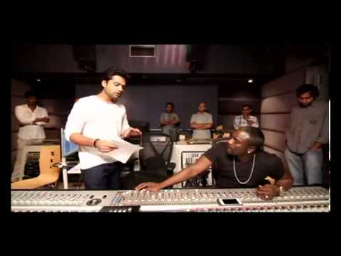 STR and AKON  Making of Love Anthem for World Peace