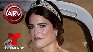 Los trajes de boda de Meghan Markle y la princesa Eugenie   Al Rojo Vivo   Telemundo