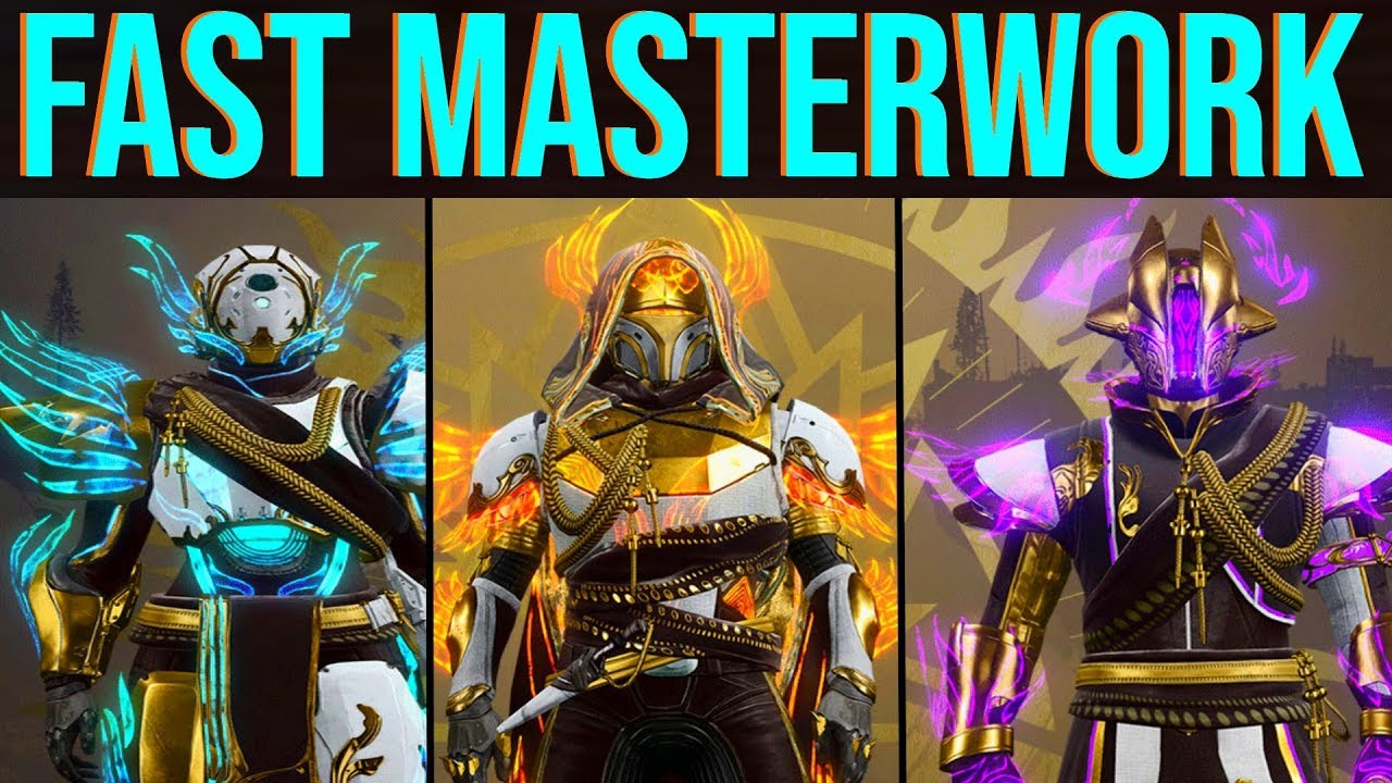Destiny 2 Solstice Of Heroes Guide How To Masterwork Your Armor Fast