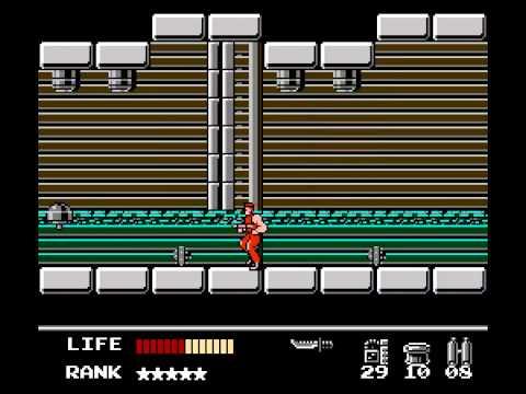 NES Longplay [256] Metal Gear - Snake's Revenge