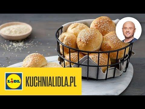 Domowe Bułki Do Burgerów Paweł Małecki Kuchnia Lidla