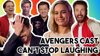 AVENGERS: ENDGAME CAST ARE THE BIGGEST TROLLS | FUNNY MOMENTS 2019