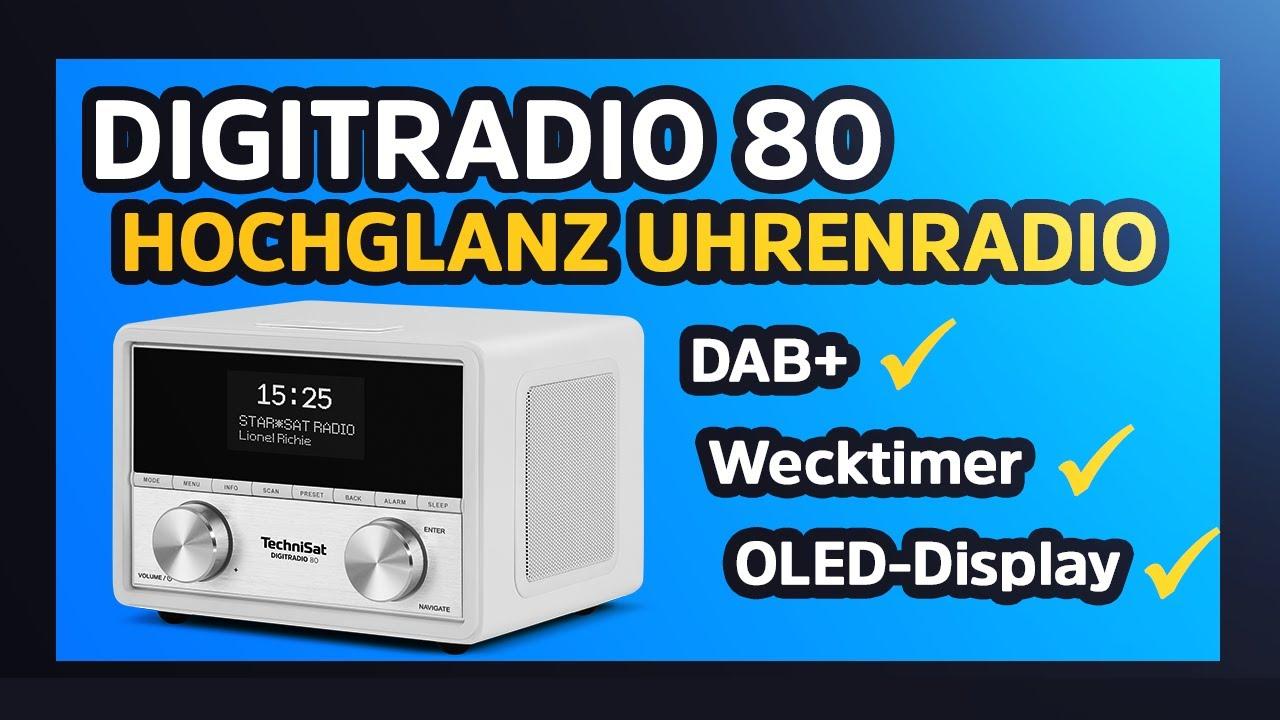 Video: Short Review DIGITRADIO 80 | DAB+/UKW-Stereo-Uhrenradio in Premium-Ausführung | TechniSat
