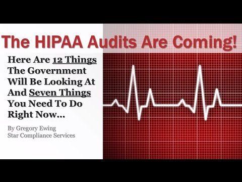 The HIPAA Audits Are Coming! | Healthcare Compliance Training