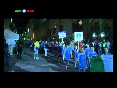 Coppa Interamnia sfilata 2011 Teramo riprese RETE TV ITALIA Donato Pelusi