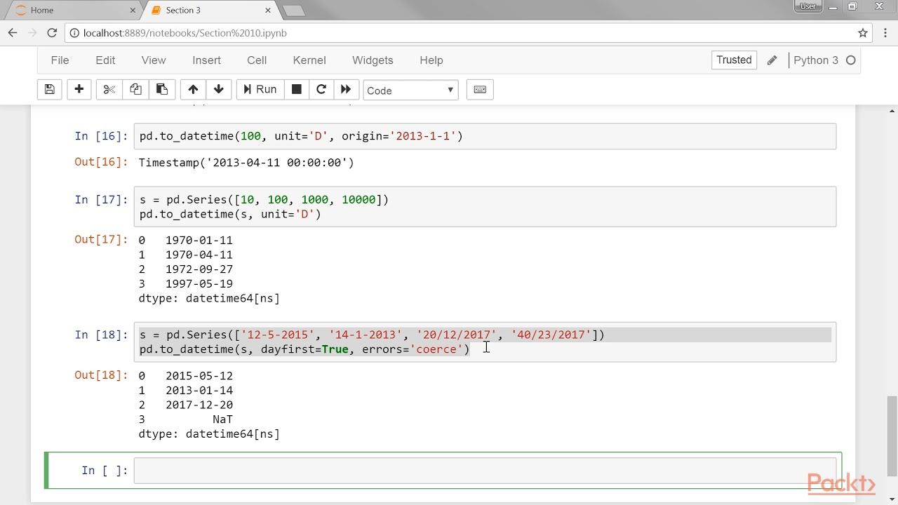 Data Visualization Recipes in Python: Understands Diff Btwn Python & Pandas  Date Tools  packtpub com
