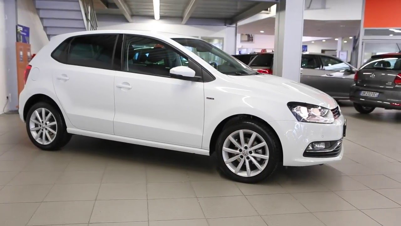 volkswagen polo occasion 1 2 tsi 90 bluemotion technology s rie sp ciale lounge blanc 2703 youtube. Black Bedroom Furniture Sets. Home Design Ideas