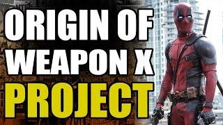 Marvel Comics: Deadpool/Weapon X Project Explained