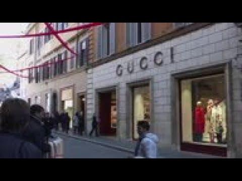 b4e29d8ec34 Rome reax to Gucci  blackface sweater  controversy - YouTube