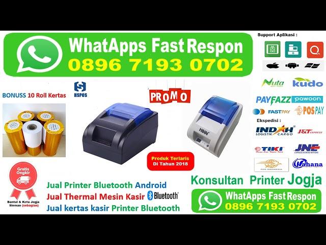 jual mini printer bluetooth di jogja.089 671 930 702
