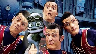 We Are Number One but Crazy Frog comes in and Fs all over Robbie's Axel