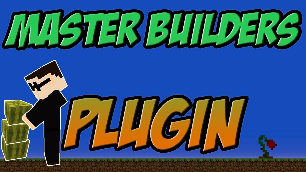 Master Builders Bukkit Plugin