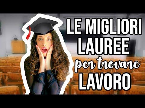 LE MIGLIORI LAUREE PER TROVARE LAVORO!