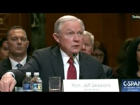 Attorney General Jeff Sessions Grilled At Congressional Oversight Hearing