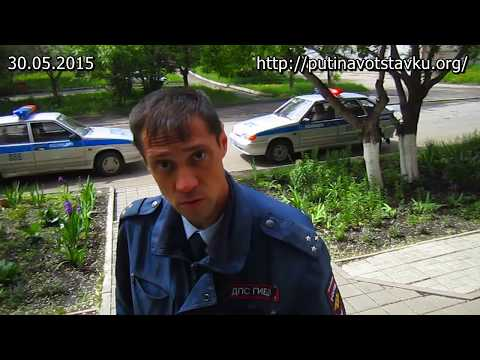 Видео: Кемеровчанин избил полицейского заступаясь за мать