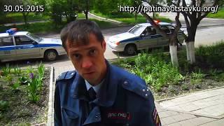 Кемеровчанин избил полицейского заступаясь за мать