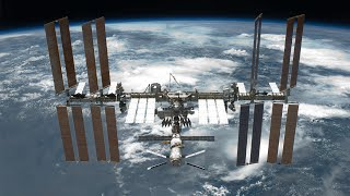 The World Outside - International Space Station (ISS) - 4K