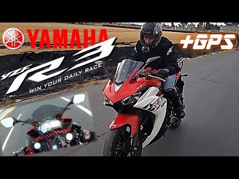 Yamaha R3 Top Speed Real+aceleraciÓn¿200km/h?