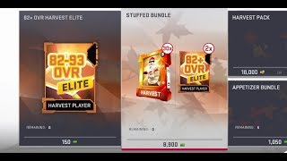 Video PULLING 90+ OVERALL HARVEST PLAYERS FROM THE STUFFED BUNDLE - WORTH IT? MUT 19 download MP3, 3GP, MP4, WEBM, AVI, FLV November 2018