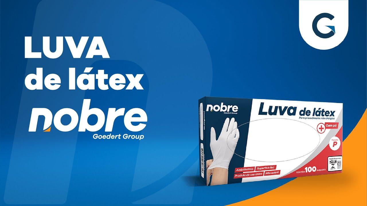 bb5bd93484b14 Luva de látex para procedimento não cirúrgico - Nobre   Fora da Caixa    Unboxing