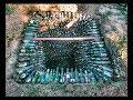 Выгребная яма из бутылок Все этапы строительства mp3