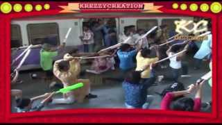 FLASH MOB DANCE on MUMBAI INDIANS THEME SONG AT CST STATION MUMBAI
