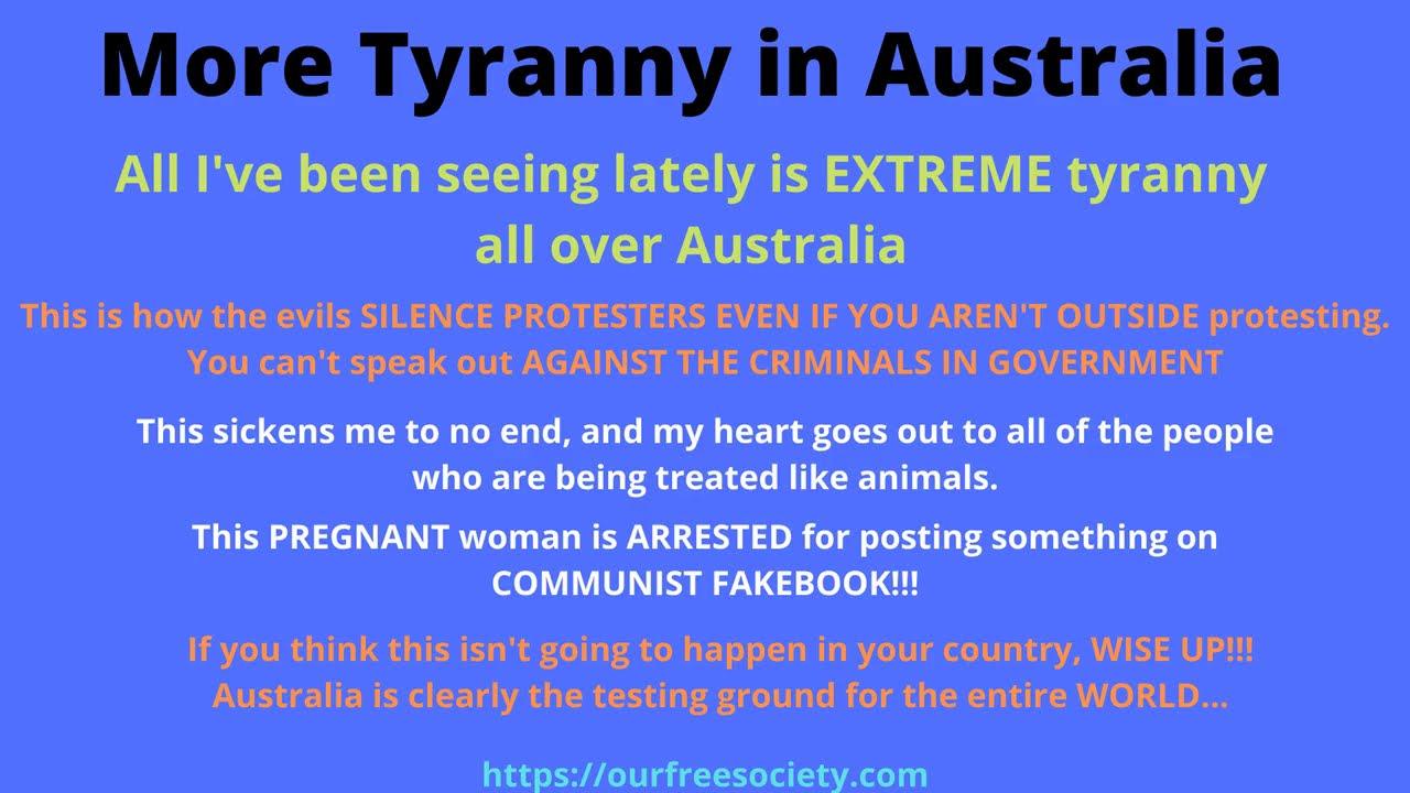 More Tyranny in Australia