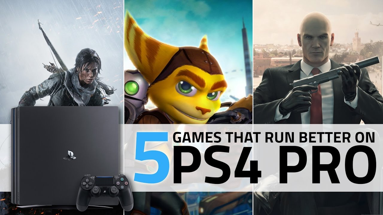 PS4 Pro vs PS4: 5 Best Games That Perform Better on Sony's PS4 Pro - YouTube