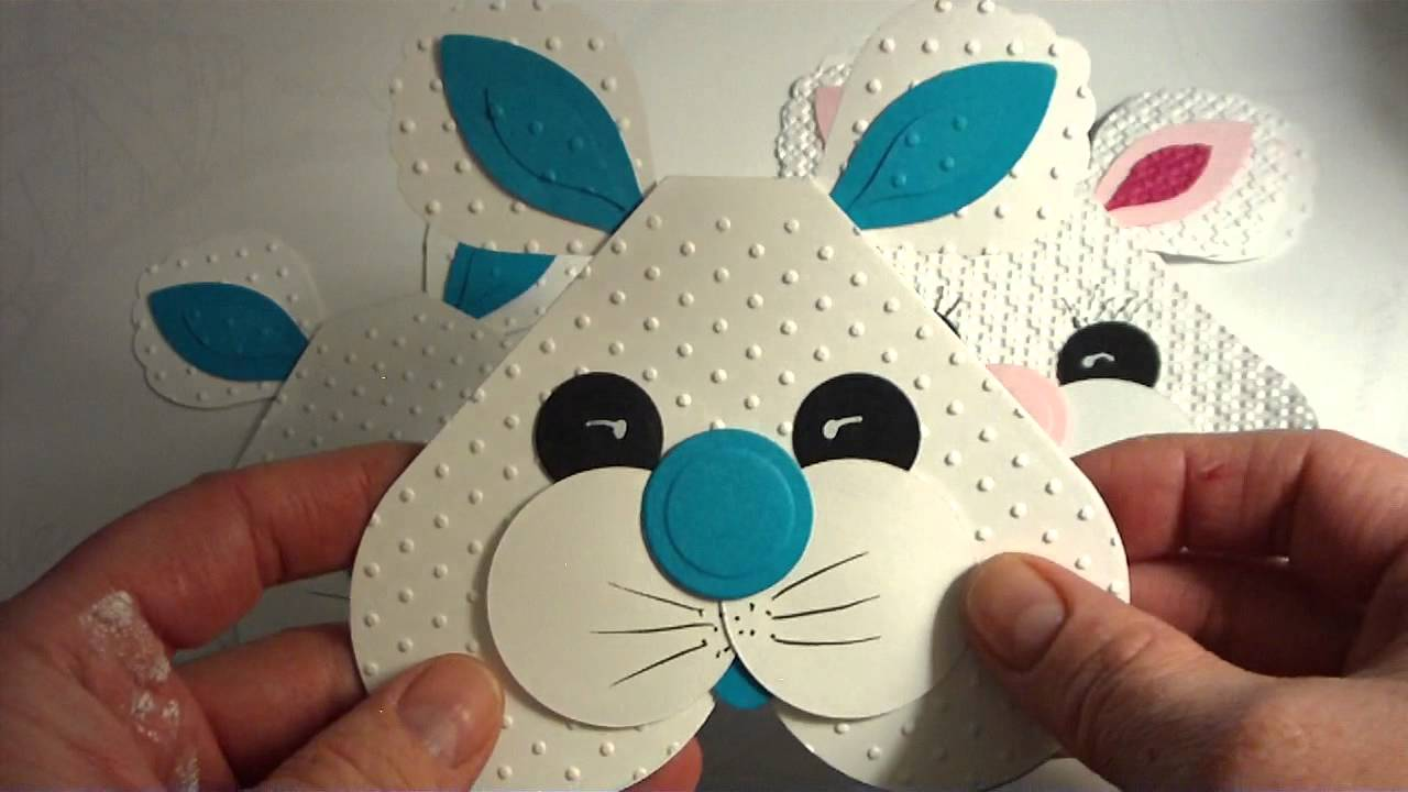 Easter Bunny Cards for the Kids 2012 YouTube – Easter Cards for Kids to Make
