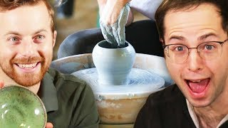 Mix - The Try Guys Try Pottery