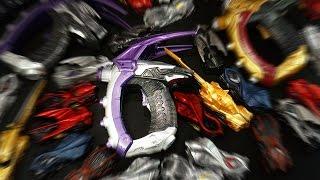 仮面ライダードライブ 変身拳銃 DXブレイクガンナー ドライブサーガver & ライノスーパーバイラルコア Kamen Rider Drive DX Break Gunner thumbnail