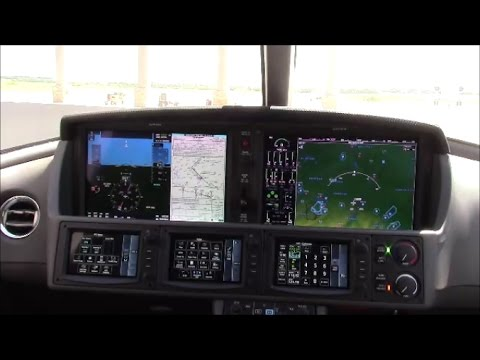 Cirrus Personal Jet Interior and Cockpit Overview