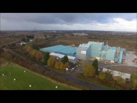 DJI Phantom 3. Newark Notts.
