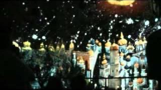 Лазерное шоу в башне Давида