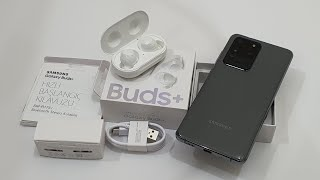 مراجعة سماعات Galaxy Buds+ Plus 2020 جالاكسي بدز بلس .. هدية Galaxy S20 Ultra