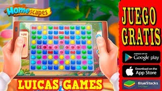 Homescapes Juego de Puzzles GRATIS en Android, IOS, Smartphone, Tablet, movil, IPad, IPhone, IPod...