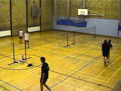 Oxford University vs Southampton University Badminton