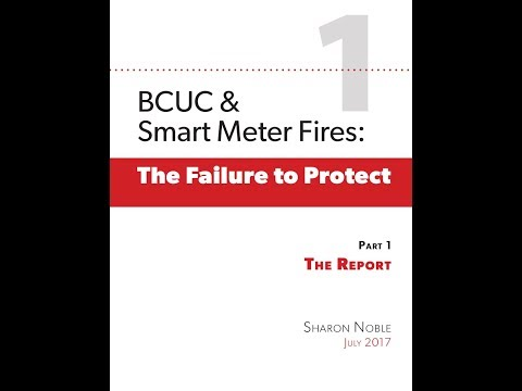 Smart meter Fires Report Interview Sharon Noble on Citizens Forum