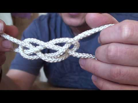 Two Lanyards Part 1 - Sailor's Knot and Knife Lanyard Knot