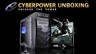 Cyber Power PC X Trooper Gaming Computer Unboxing