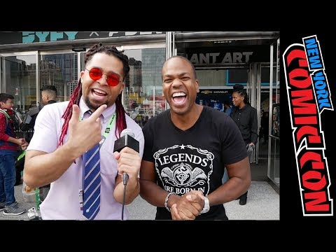 Akasan & Tyrone Magnus back at it again!! (NYCC Interviews)