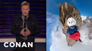 You'll Never Believe Who Filmed This Insane Footage - CONAN on TBS