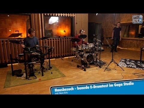 Hausbesuch: Bonedo E-Drum Test im Gaga Studio Hamburg