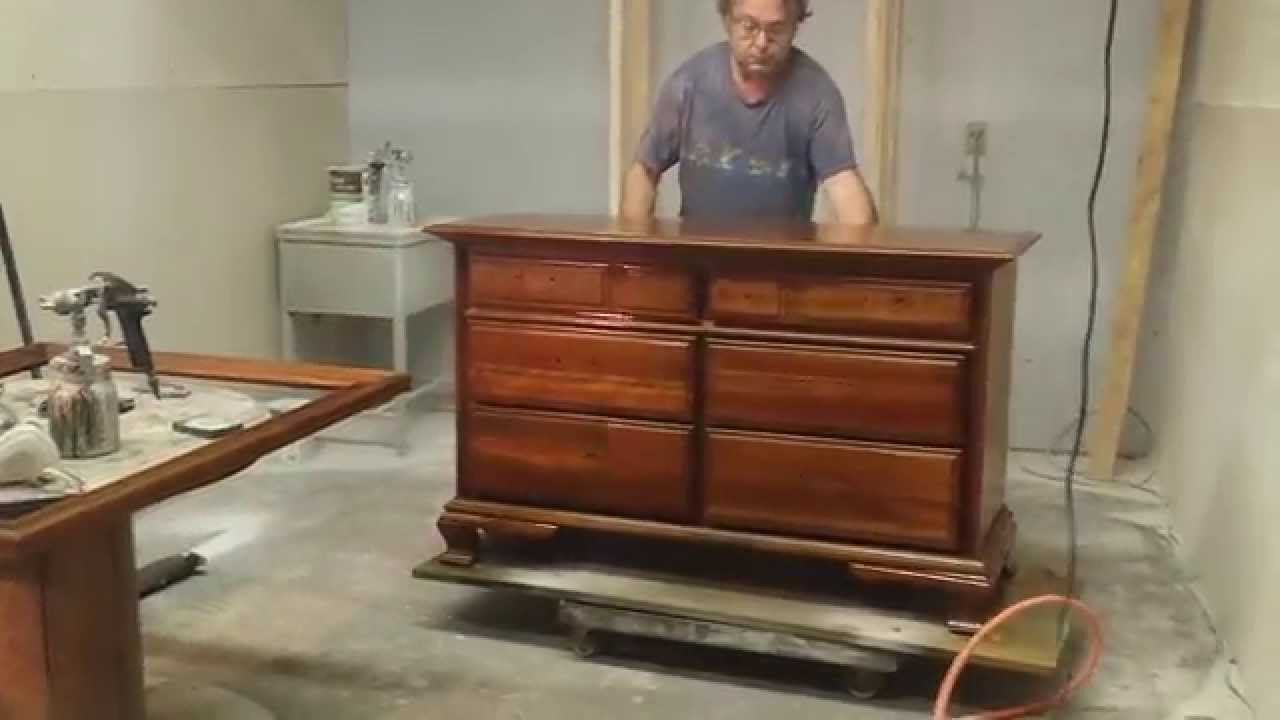 Amazing Refinishing A Cherry Dresser At Timeless Arts Refinishing