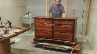 Refinishing A Cherry Dresser At Timeless Arts Refinishing